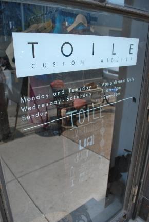 Toile: Fashion in a FishtownBoutique